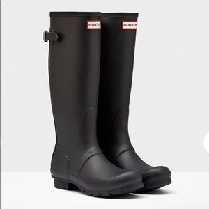 Hunter Women's Original Tall Back Adjustable Rain